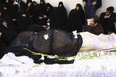 عکس جنازه منتظری
